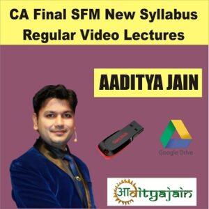 CA FINAL SFM NEW